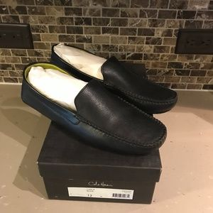 Cole Haan Casa II Loafers Leather Black Sz 12
